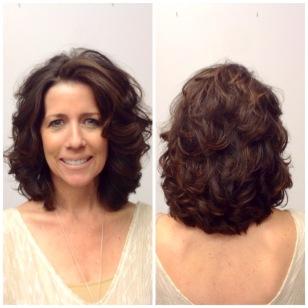 Layered Haircut on thick hair