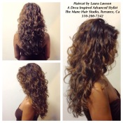 Deva Cut and Style on Naturally Curly Hair
