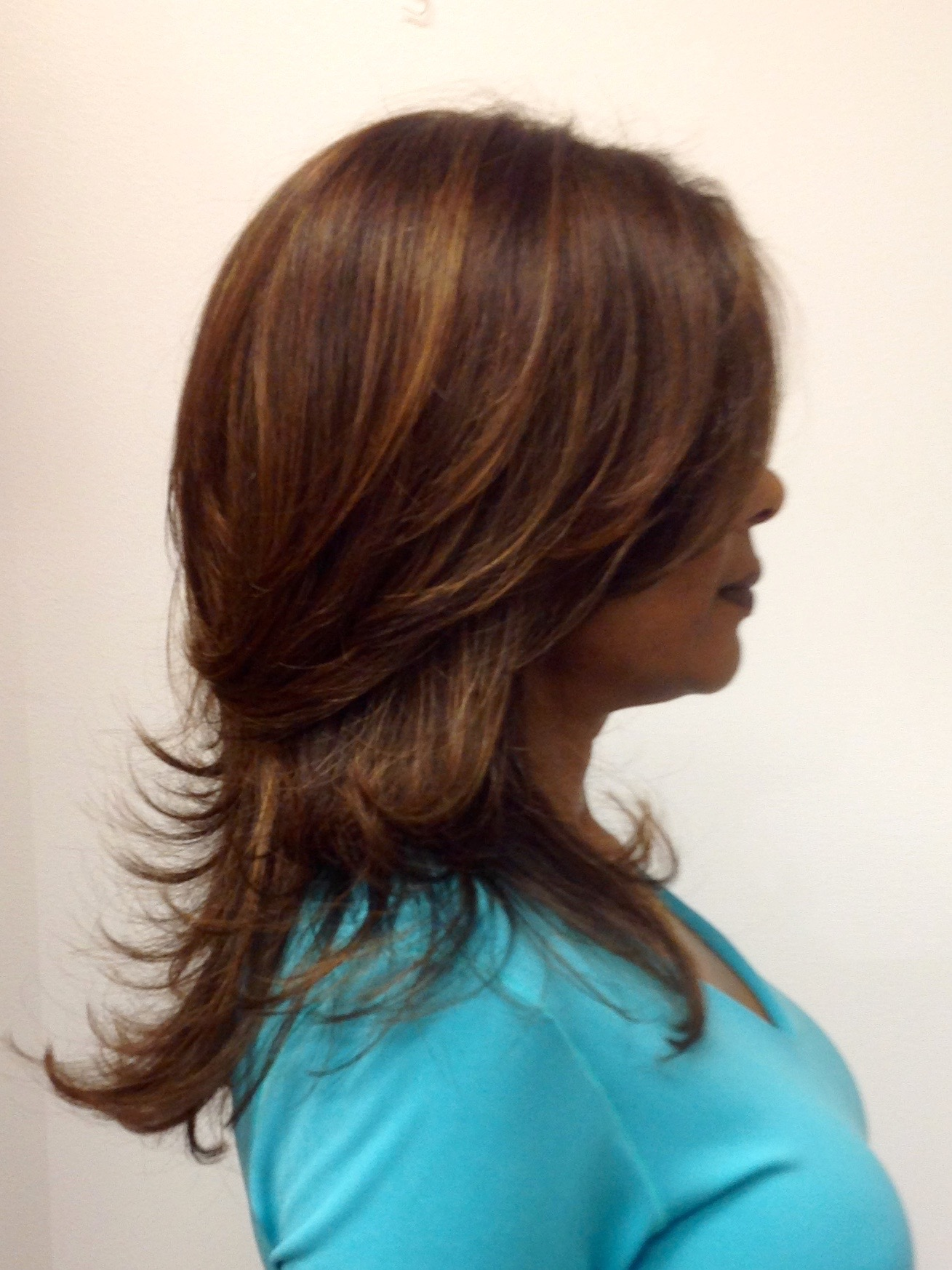 Short Layers On Long Hair With Highlights Theroyalhairtreatment