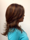 Short Layers on Long Hair With Highlights